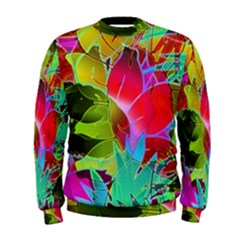 Floral Abstract 1 Men s Sweatshirts by MedusArt