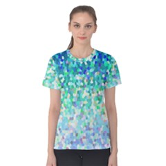 Mosaic Sparkley 1 Women s Cotton Tees by MedusArt