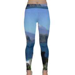 Panted Landscape Tenerife Yoga Leggings