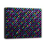 Polka Dot Sparkley Jewels 2 Canvas 10  x 8