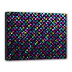 Polka Dot Sparkley Jewels 2 Canvas 16  x 12