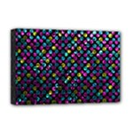 Polka Dot Sparkley Jewels 2 Deluxe Canvas 18  x 12