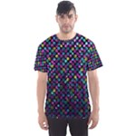 Polka Dot Sparkley Jewels 2 Men s Sport Mesh Tees