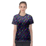 Polka Dot Sparkley Jewels 2 Women s Sport Mesh Tees