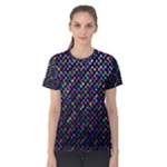Polka Dot Sparkley Jewels 2 Women s Cotton Tees