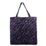 Polka Dot Sparkley Jewels 2 Grocery Tote Bags