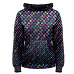 Polka Dot Sparkley Jewels 2 Women s Pullover Hoodies