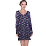 Polka Dot Sparkley Jewels 2 Long Sleeve Nightdresses