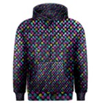 Polka Dot Sparkley Jewels 2 Men s Zipper Hoodies