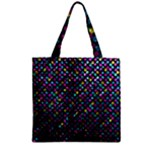 Polka Dot Sparkley Jewels 2 Zipper Grocery Tote Bags