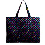 Polka Dot Sparkley Jewels 2 Zipper Tiny Tote Bags