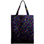 Polka Dot Sparkley Jewels 2 Zipper Classic Tote Bags