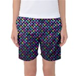 Polka Dot Sparkley Jewels 2 Women s Basketball Shorts