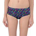 Polka Dot Sparkley Jewels 2 Mid-Waist Bikini Bottoms