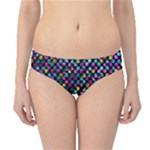 Polka Dot Sparkley Jewels 2 Hipster Bikini Bottoms