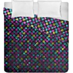 Polka Dot Sparkley Jewels 2 Duvet Cover (King Size)