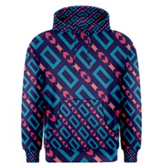 Rectangles And Other Shapes Pattern Men s Pullover Hoodie