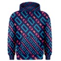Rectangles and other shapes pattern Men s Pullover Hoodie View1