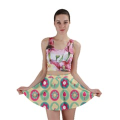 Chic Floral Pattern Mini Skirts by creativemom