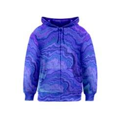 Keep Calm Blue Kids Zipper Hoodies by ImpressiveMoments
