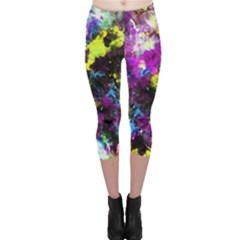 Colour Splash G264 Capri Leggings by MedusArt