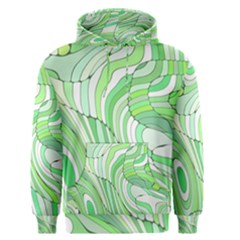 Retro Abstract Green Men s Pullover Hoodies by ImpressiveMoments
