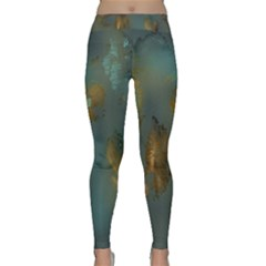 Broken Pieces Yoga Leggings by digitaldivadesigns