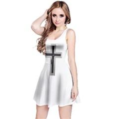 Red Christian Cross Reversible Sleeveless Dress by igorsin