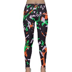 Broken Pieces Yoga Leggings by LalyLauraFLM