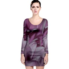 Purple! Long Sleeve Bodycon Dresses by timelessartoncanvas
