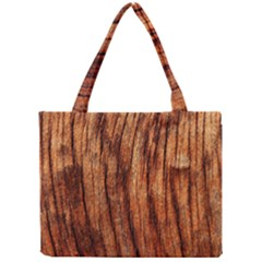 Old Brown Weathered Wood Tiny Tote Bags by trendistuff