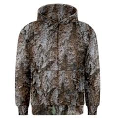 Douglas Fir Bark Men s Zipper Hoodies by trendistuff