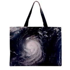 Hurricane Irene Zipper Tiny Tote Bags by trendistuff
