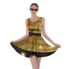 Golden Pearls Skater Dresses by trendistuff