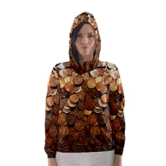 Us Coins Hooded Wind Breaker (women)