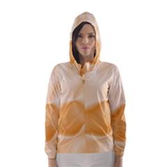 Colors In Motion,peach Hooded Wind Breaker (women)