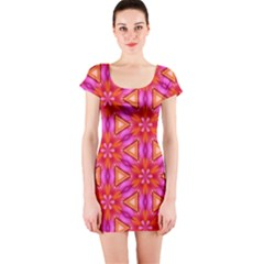Cute Pretty Elegant Pattern Short Sleeve Bodycon Dresses by creativemom