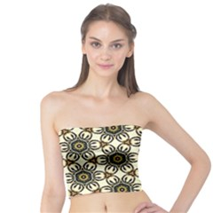 Faux Animal Print Pattern Women s Tube Tops by creativemom