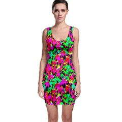 Colorful Leaves Bodycon Dresses by Costasonlineshop
