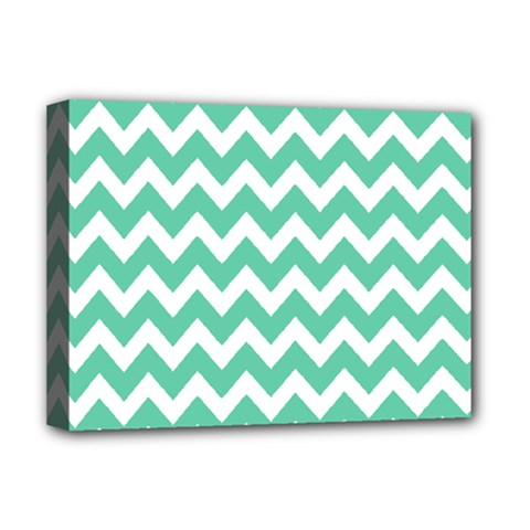 Chevron Pattern Gifts Deluxe Canvas 16  X 12