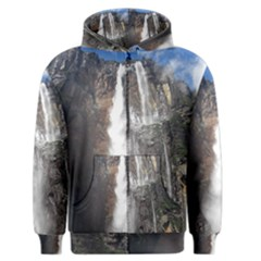 Salto Del Angel Men s Zipper Hoodies by trendistuff