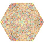 Papillons de Paisley copyright M. Nicole van Dam Mini Folding Umbrella