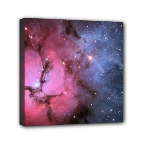Trifid Nebula Mini Canvas 6  X 6