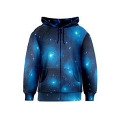 Pleiades Kids Zipper Hoodies by trendistuff