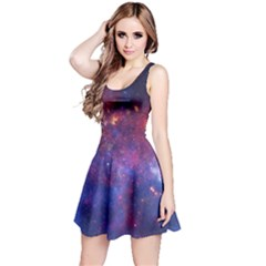 Milky Way Center Reversible Sleeveless Dresses by trendistuff