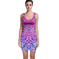 Ethnic Tribal Pattern G327 Bodycon Dresses by MedusArt