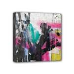 Graffiti Grunge Mini Canvas 4  x 4  (Stretched)