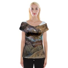 Artists Palette 2 Women s Cap Sleeve Top by trendistuff