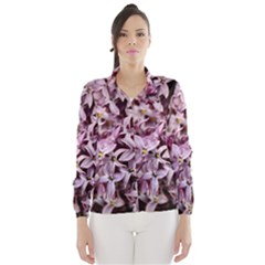 Purple Lilacs Wind Breaker (women) by trendistuff