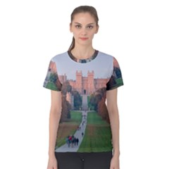 Windsor Castle Women s Cotton Tee by trendistuff